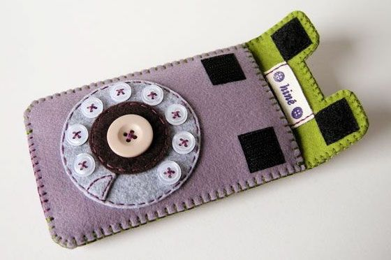 Gadget cases - Hine via tryhandmade