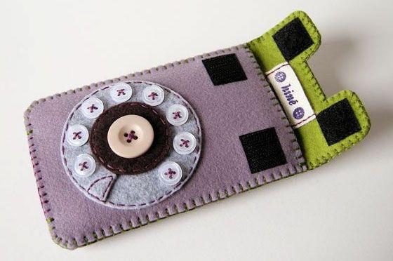 Gadget cases - Hine via tryhandmade
