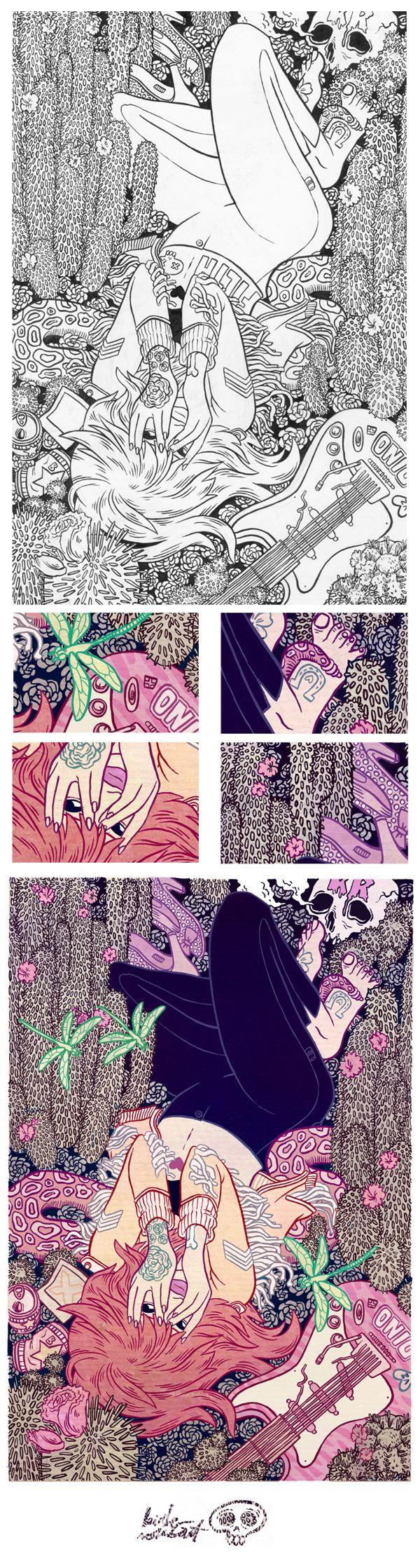 DREAM ON by Kirsten Rothbart, via Behance