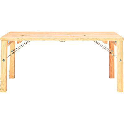 パイン材ローテーブル・折りたたみ式 幅80×奥行50×高さ35cm | 無印良品ネットストア