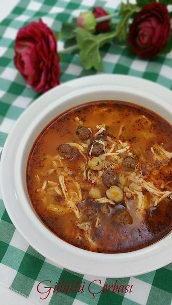 Gülüklü Çorbası Yöresel Çorbalar Yöresel Çorba Tarifi Bu akşam Alanya'nın yöresel çorbası...