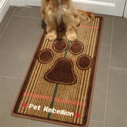 COUNTRY TWEED door mat and floor mat barrier rug to stop those muddy paws and protect your floors from www.blissandbloom.co.uk