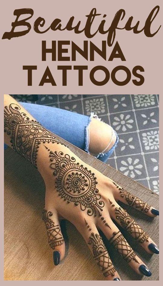 The Prettiest Henna Tattoos On Pinterest  Beautiful Tattoo Ideas  Pinterest