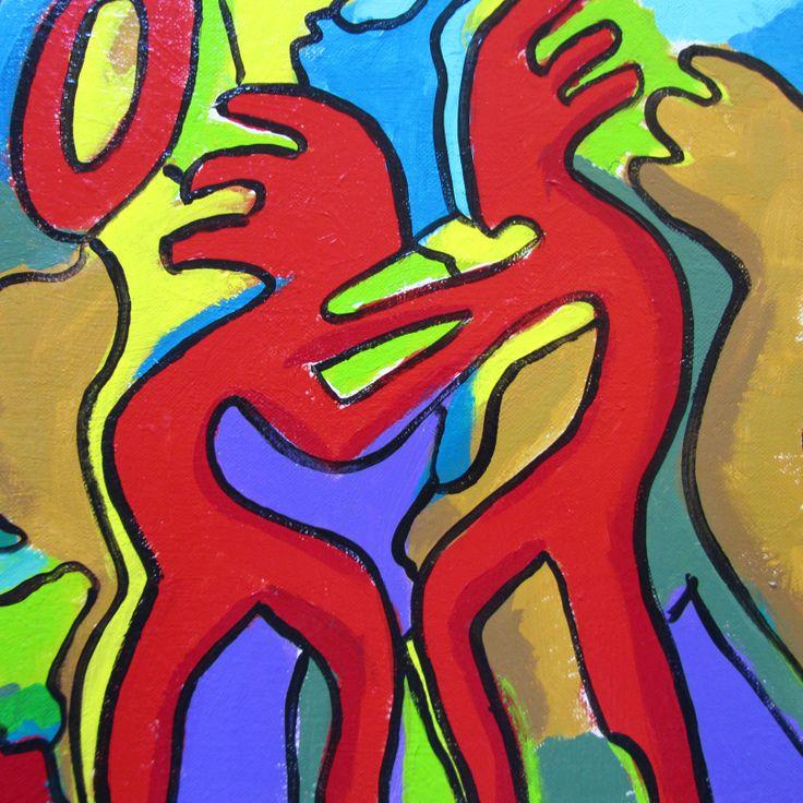 acrylic on canvas, 40x40