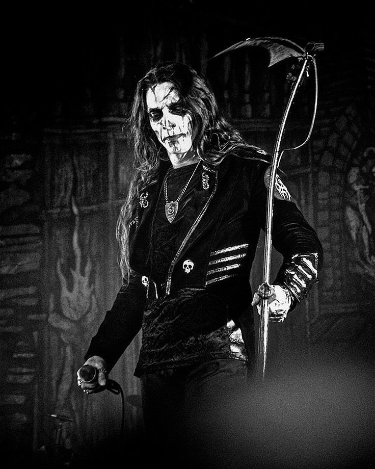 Icon Carach Angren At Hellfest 2019 Carachangren Blackandwhite Blackmetal Metal Metalhead Fest Festival Metalfest Black Metal Metalhead Great Bands