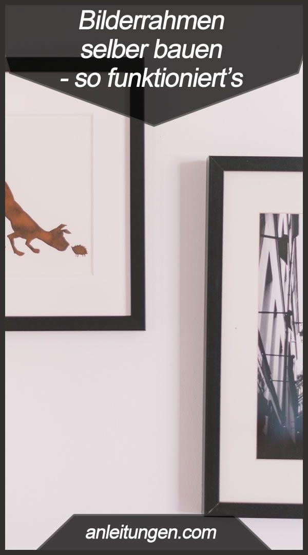 bilderrahmen selber bauen alles was du zum bilderrahmen. Black Bedroom Furniture Sets. Home Design Ideas