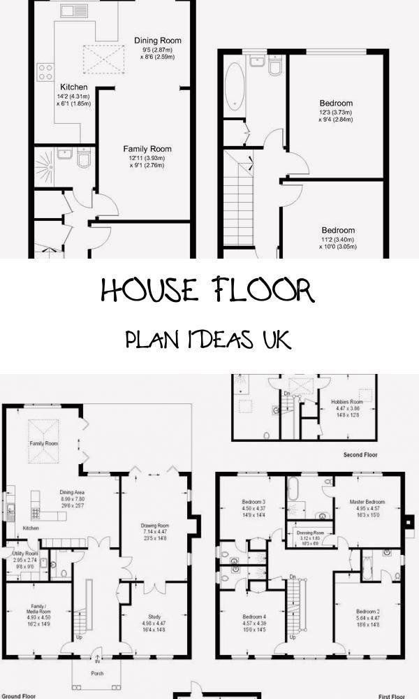 20 House Floor Plan Ideas Uk In 2020 With Images Floor Plans House Floor Plans