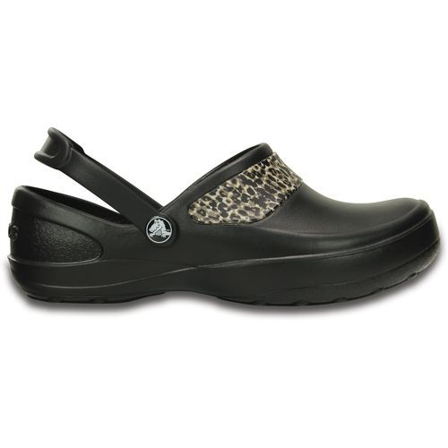 Crocs Women's Mercy Work Clogs (Black/Gold, Size 10) - Women's Work Boots Shoes at Academy Sports