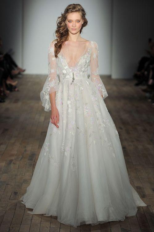 La collection bridal printemps-été 2018 d'Hailey Page