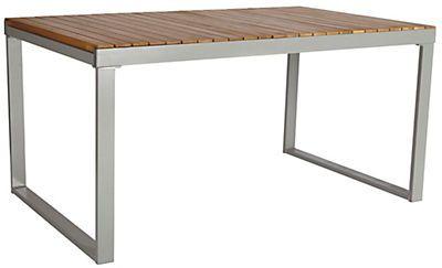 Gartentisch »Monaco«, ausziehbar, Alu/Akazienholz, 150-200x90 cm zum fairen Preis: Jetzt Gartentische entdecken und günstig online kaufen! 329 €