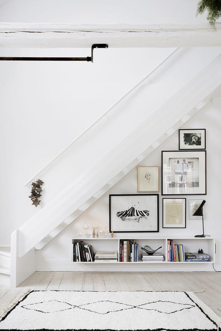 maneras de aprovechar el hueco de la escalera
