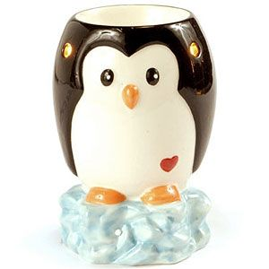 Penguin Tart Warmer My Electric Tart Burner OMG I NEED THIS FORGET EVERY OTHER WAX MELTER I WANTED THIS IS THE ONEEEEE