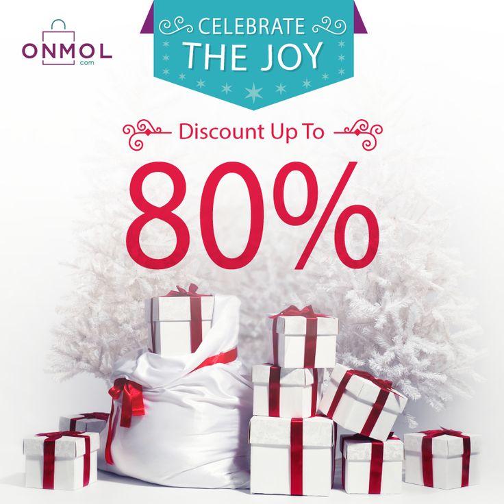 Sambut keceriaan Natal bersama OnMol! Dapatkan berbagai penawaran istimewa di Hari Spesial dengan Diskon Hingga 80% di OnMol. Buruan, cek selengkapnya disini.  ... #OnMolID #onlineshop #belanjaonline #CelebrateTheJoy