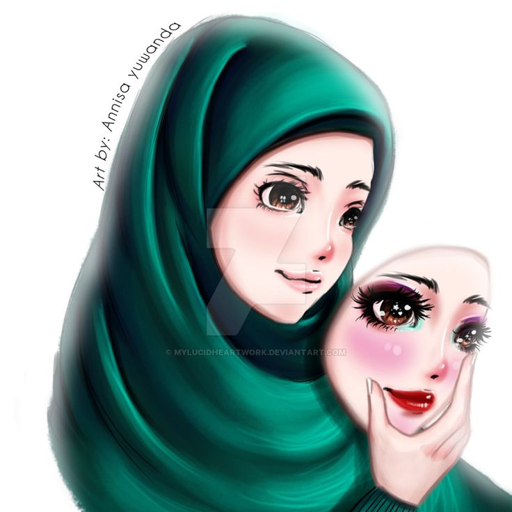 Muslimah Natural Beauty (Minimum Make Up) Hijab by ...