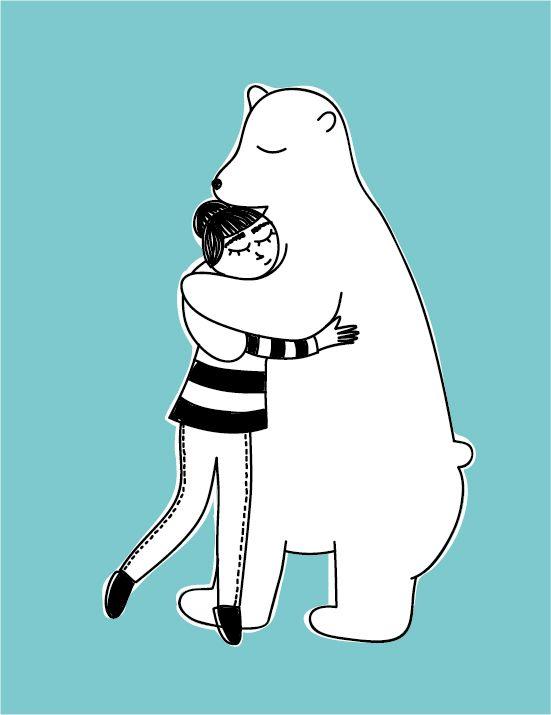 Abrazadora de osos  #oso #bear #hug
