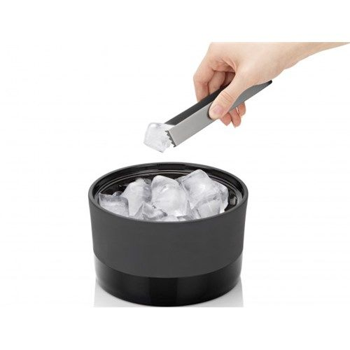 Magisso Cooling Ceramics Ice Bucket with Tongs