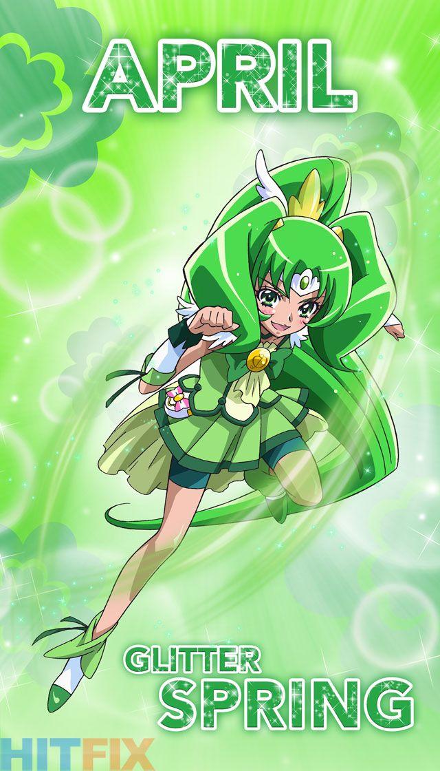 Glitter Spring | Glitter force, Anime, Magical girl anime