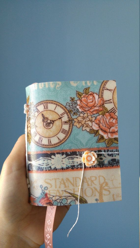 hand made journal with Cath Kidston fabric by B2handmadedesign