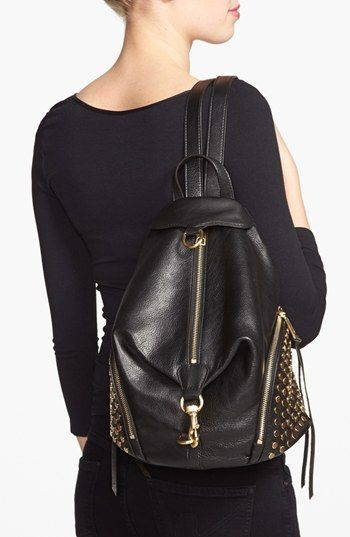 Rebecca Minkoff  'Julian' Backpack. Wish I could find this studded one.