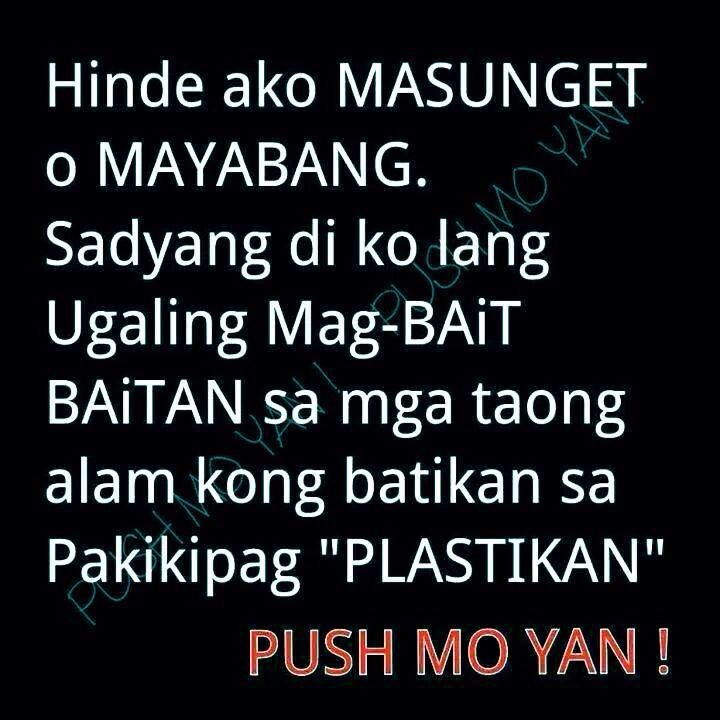 Tagalog Quotes: 62 Best Patama Quotes Images On Pinterest