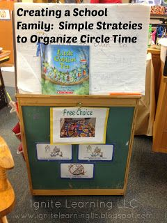 Ignite Learning with Conscious Discipline LLC: Creating a School Family: Organizing Circle Time