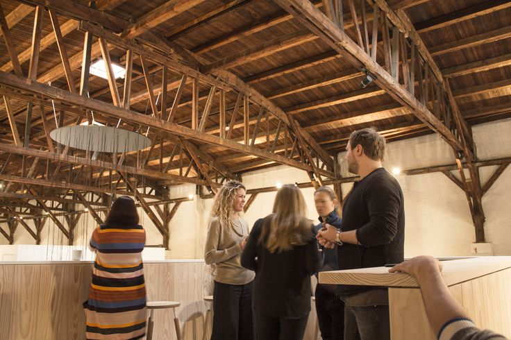 TAKING IN THE VIEW AND THIS AMAZING ROOF FEATURING ORIGINAL EXPOSED WOODEN BEAMS