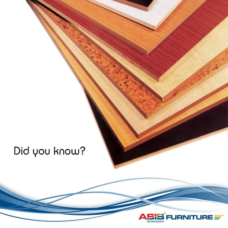Plywood is a highly versatile engineered wood product which has many usages in our day to day life. It can used to make floor, wood panelling, decking, school desk, and furniture. #DidYouKnow #FurnitureFacts