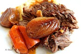 Perfect Pot Roast   posted by foodiewife-kitchen.blogspot.com  Will have to try this one for sure