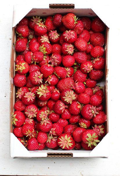 My last strawberries.