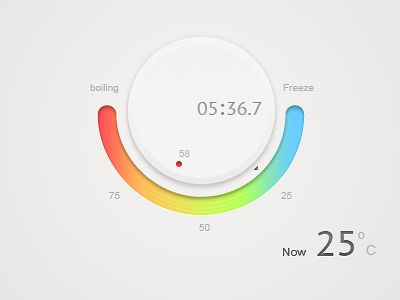 Temperature Control    http://dribbble.com/shots/657843-Temperature-controller?list=tags=app