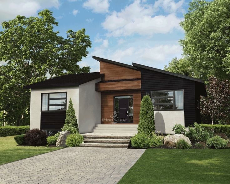 Elvira is a small house plan with porch roofed by a concrete deck