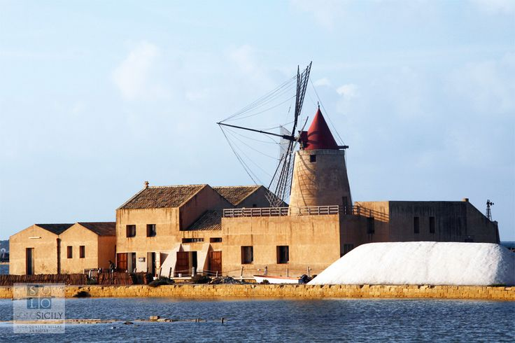 The salt pans - visit at sunset for a truly magical experience! #west  #Sicily