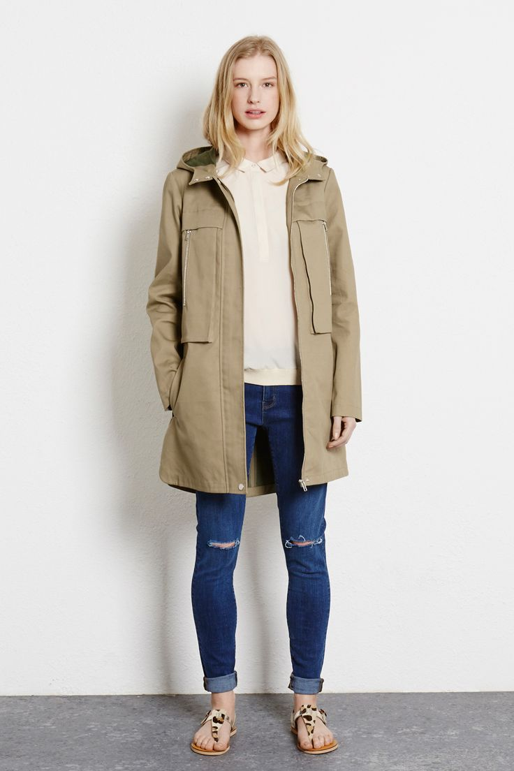 Fred Perry British Summer Parka (Bright Yellow)