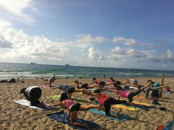 Ft. Lauderdale BEACH YOGA by DONATION! - the Yoga cOMmUNITY of south florida (Fort Lauderdale, FL) - Meetup
