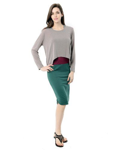 Doublju Womens Fashionable With T-Shirts Midi Dress (KWO019) $19.99 (30% OFF): Women Fashion, Midi Dresses, Perfect 19 99, Dresses Kwo019, Doublju Women, T Shirts Midi, Neeed Money