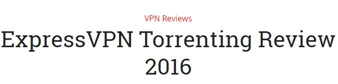 ExpressVPN is known for its high quality internet speed and best VPN for torrent…