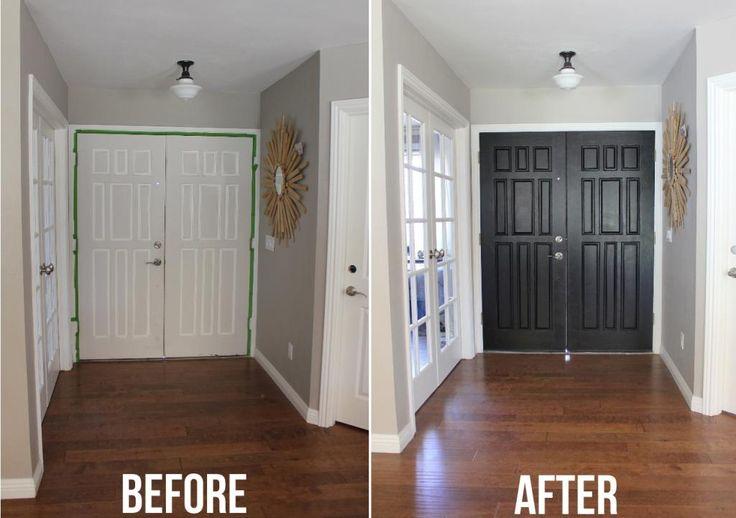 1000 Ideas About Paint Doors Black On Pinterest Paint Doors Black Interior Doors And Entry