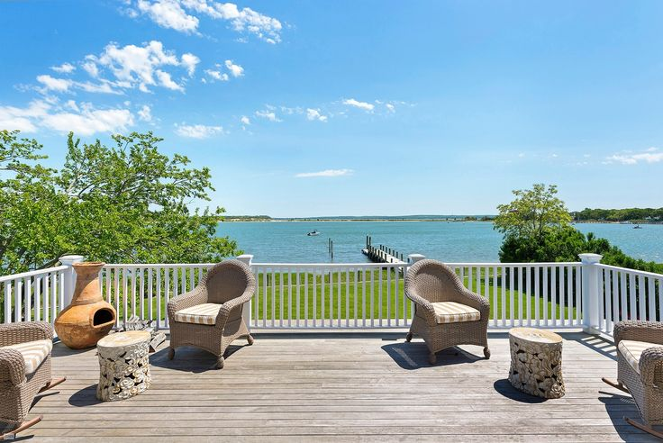 """Just listed sensational waterfront property nestled in the serene enclave of """"Montclair Colony"""", a superb retreat located on Shelter Island's picturesque West Neck Harbor with expansive water views over the harbor to Noyack Bay and beyond. Private dock and mooring allows for your own boat, kayak, paddle board and water..."""
