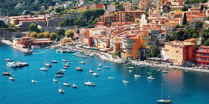 On the #Mediterranean riviera of #France