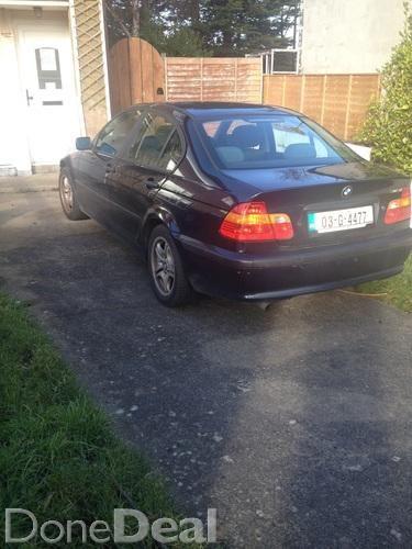 03 bmw 318. Very clean car