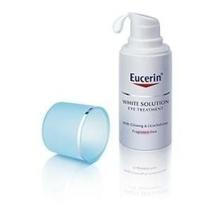 Eucerin White Therapy Eye Cream 15 Ml by Eucerin. $100.00. Reduce under-eye bags, dark circles and wrinkles around the eyes gently. With natural extracts. Fragrance-free. Non Coloring agents and alcohol-free.