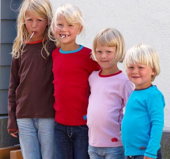Meandi syysmallisto 2008 :::: Pitkähihainen peruspusero, Perusmallisto, 74/80-146/152, 21-23 €