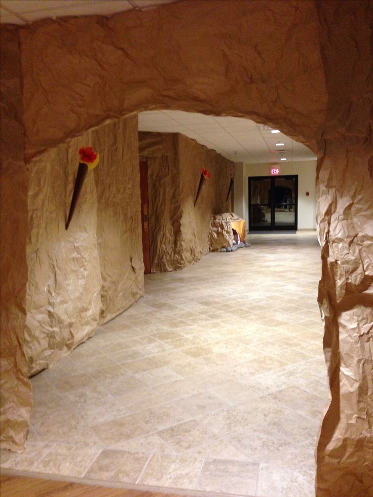 Cave made for Sonrise National Park VBS 2014 First Baptist Church of Belfry