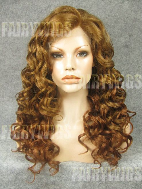 Fantastic Long Brown Female Wavy Lace Front Hair Wig 20 Inch