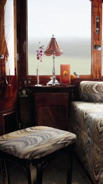 Orient Express Compartment Interior