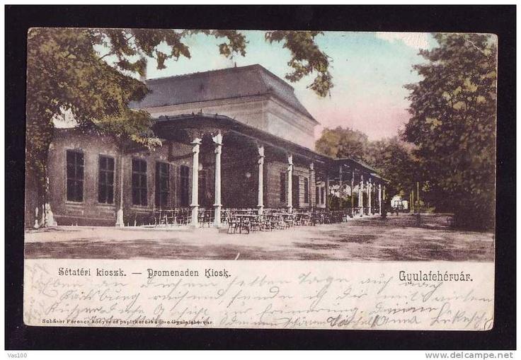 Alba Iulia - anul 1900