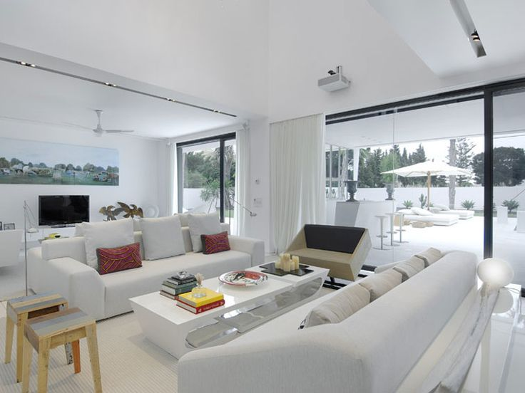 House with White Concept