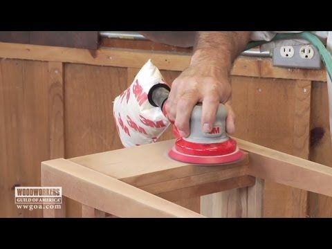 Sanding Dust Collection & Quality of Work