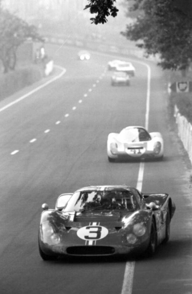 Le Mans 1967 Ford Gt Mk Iv J7 N 3 Mario Andretti Lucien