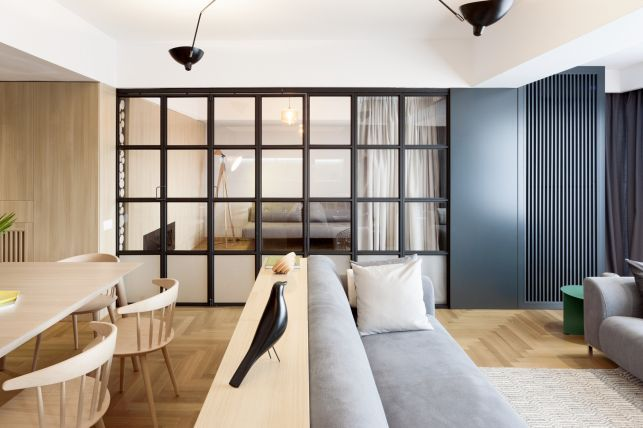 Design contemporan la superlativ intr-un apartament din Bucuresti - imaginea 9